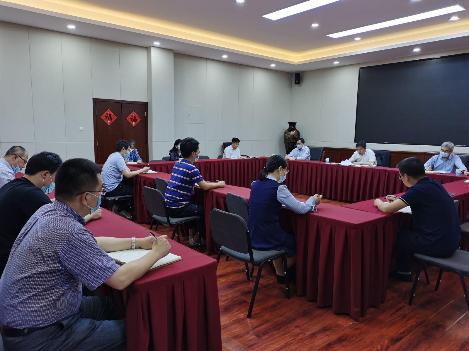 人才中心党支部传达学习巡视工作动员会议精神