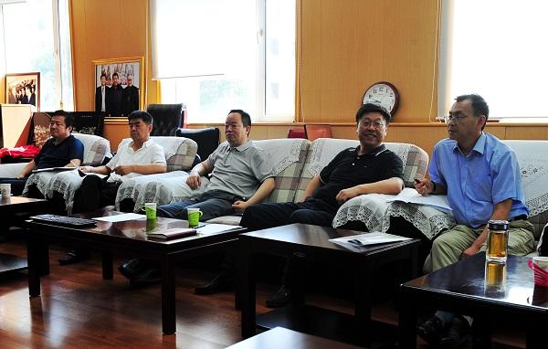 国家林业局人才开发交流中心 中国林业出版社 共同举行交流合作座谈会